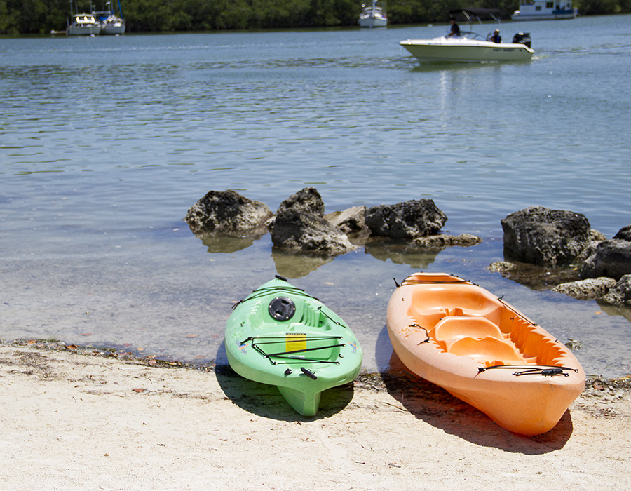 Kayaks at Gilbert's Resort, Key Largo