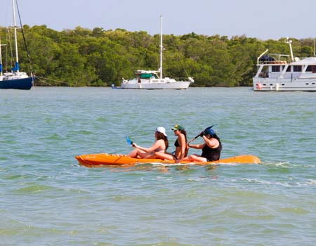 Kayaking at Gilbert's Resort, Key Largo